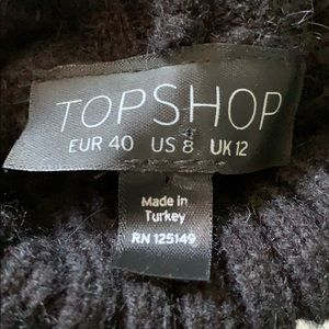 Topshop Sweaters - FINAL PRICE TopShop Turtleneck Ombré Knit Sweater